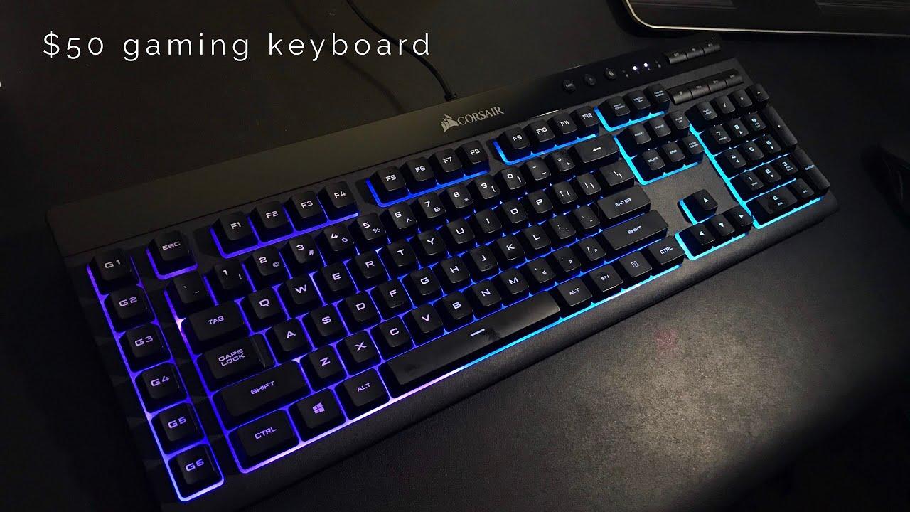 4f0f7e57305 Corsair K55 RGB Keyboard Review & Unboxing - Cheap Gaming Keyboard ...