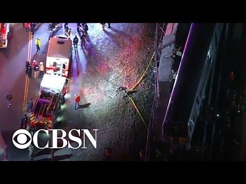 3 killed in train-vehicle collision on Long Island