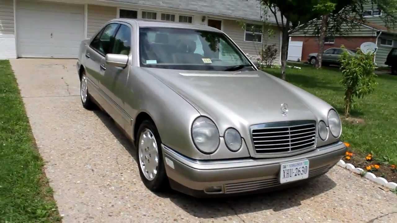 1999 Mercedes-Benz E300 Turbodiesel Walkaround & Start-up ...