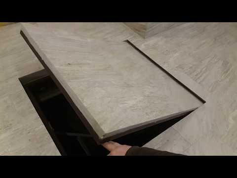 Как сделать люк в полу с плиткой