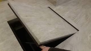 як зробити прихований люк під плитку своїми руками