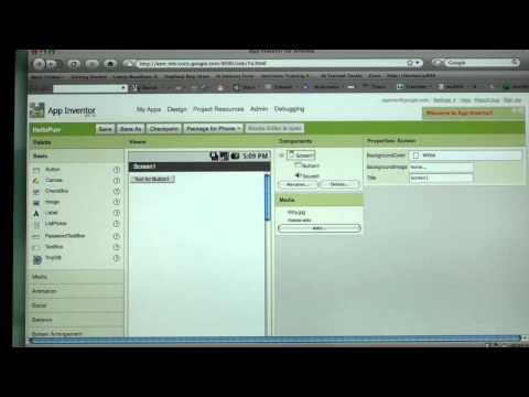 Make an Android App in 60 Seconds by 3G.co.uk