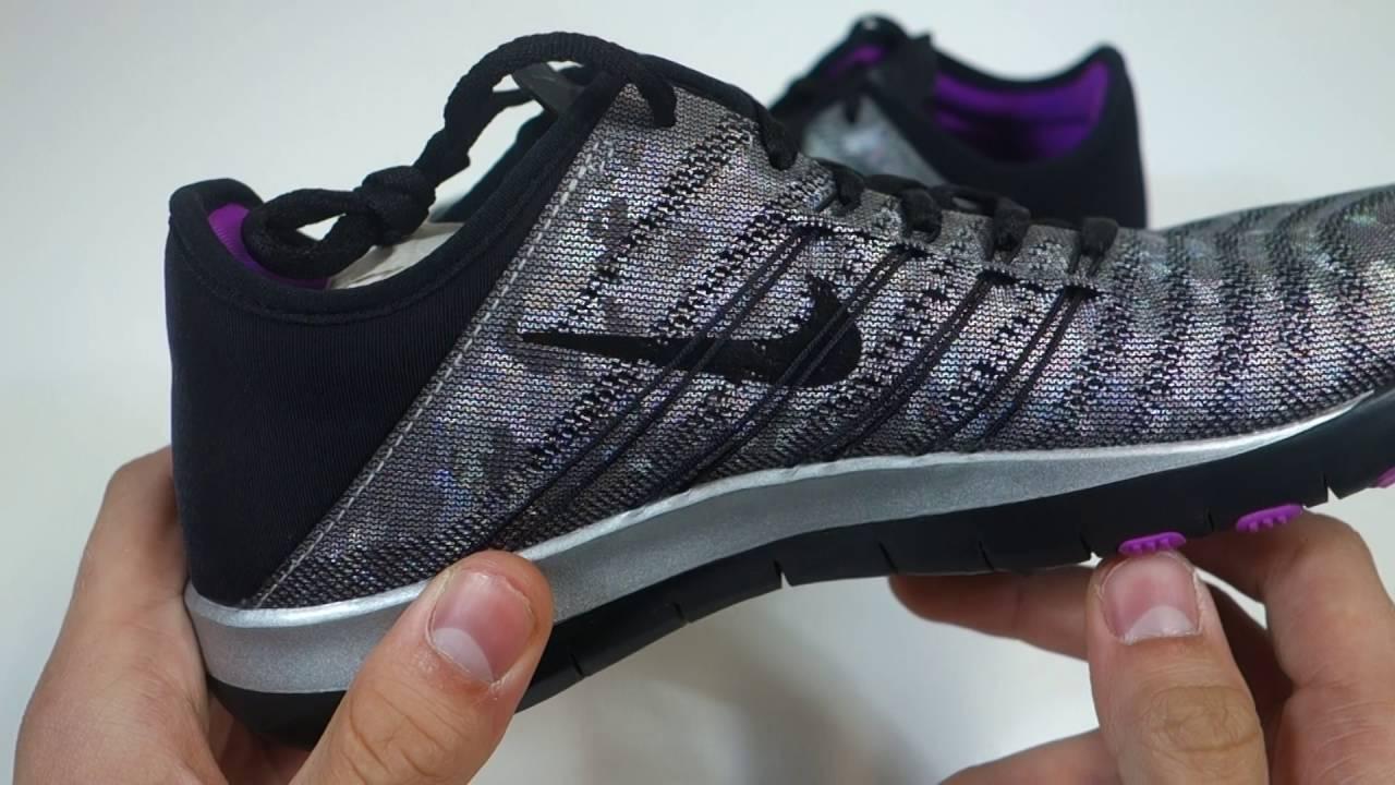 Nike Wmns Nike Free Tr 6 Mtlc Women Grey