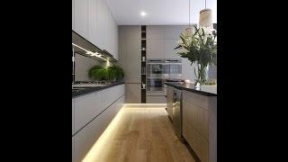 Дизайн интерьера кухни. Кухни на пике современных тенденций.(, 2016-02-24T20:46:43.000Z)