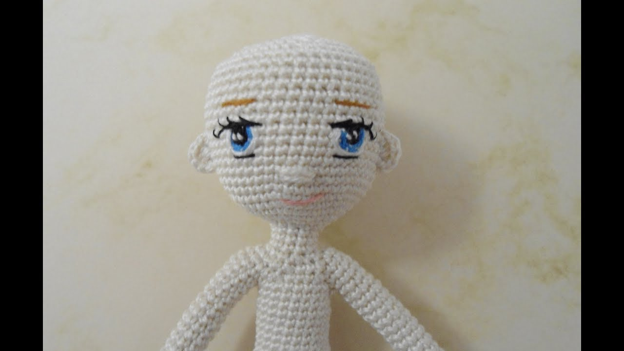 Papillon en papier: Amigurumi tips part 3 - dolls hair and eyes | 720x1280