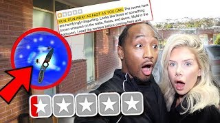 Staying at the WORST REVIEWED HOTEL in my City... **THEN THIS HAPPENED** (CRIME SCENE)