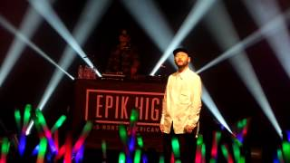 (fancam) Epik High - Introductions + It's Cold +Burj Khalifa