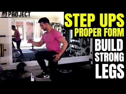 How To Do Step-Ups Properly Great Exercise For Stronger Quads, Hamstrings & Glutes