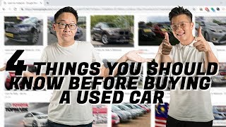 4 THINGS YOU SHOULD KNOW BEFORE BUYING A USED/RECON CAR