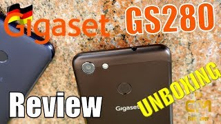 Gigaset GS280 Unboxing : German Business Smartphone  (deutsch, eng. ...