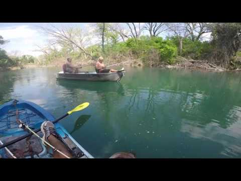 Nueces River Bass Fishing (Evans Lake) Day 2