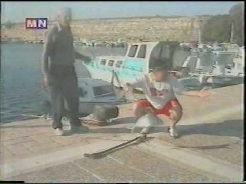 Mongolian kickboxers World championships 2003 Greece Kos island