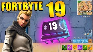 Fortnite Fortbyte 19 🚀 Vega Spaceship | All Fortbyte Places Season 9 Utopia Skin English