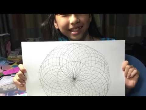 Drawing the Geometric eye by Genie Yanisa 10 y.