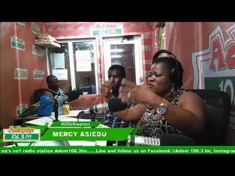 MERCY ASIEDU TALKS ABOUT SANKOFA - OFIEKWANSO on Adom FM (11-6-18)