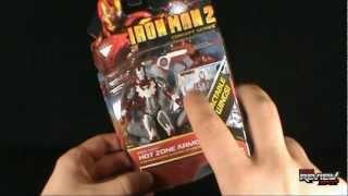 Toy Spot - Hasbro Iron Man 2 Concept Series Iron Man Hot Zone Armor