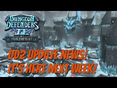 DD2 News! Update Next Week!