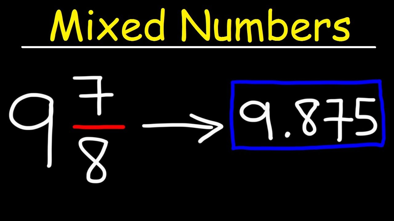 How to write a mixed number as a decimal formalism essays