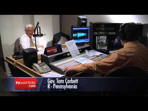Governor Tom Corbett Answers More Listener Email