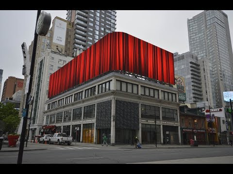 Short Version - Yonge and Dundas Roofscape LED Display Build and Installation