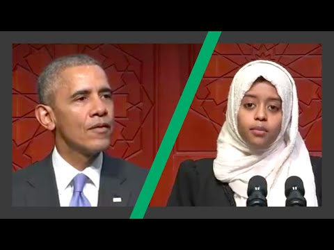 President Obama Baltimore Mosque Full Speech - intro by Sabah Mukhtar - 3 Feb 2016