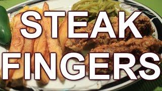 Easy Chicken Fried Steak Fingers ~ Yummy!