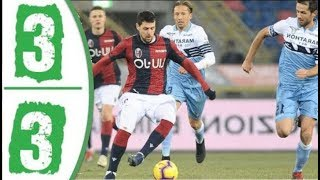 Lazio 3 - 3 Bologna