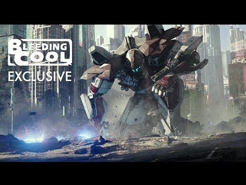 Hall of Heroes - Pacific Rim Uprising - Bleeding Cool EXCLUSIVE Clip