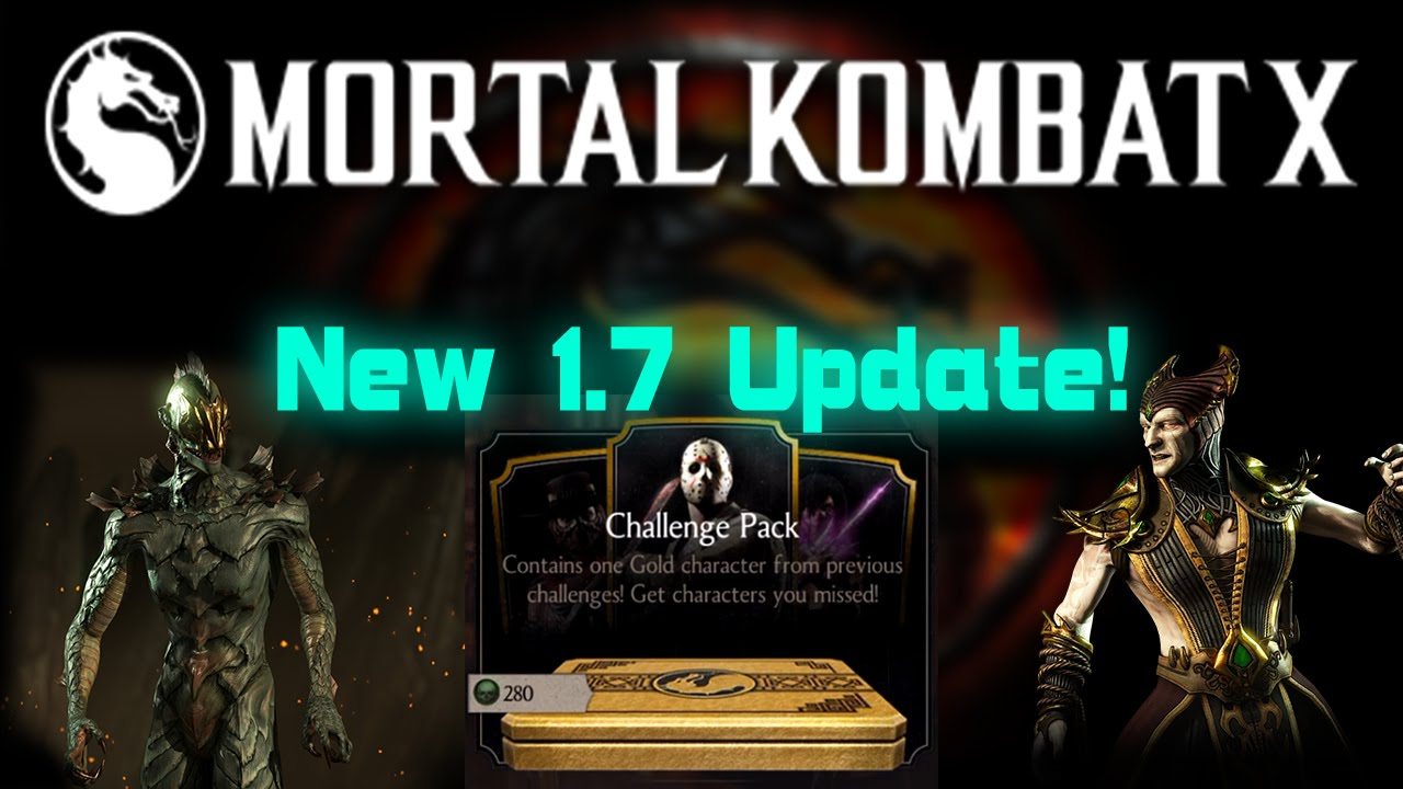 New Characters! 1 7 Update! Mortal Kombat X (MKX) Mobile! IOS/Android