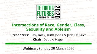 Intersections of race, gender, class, sexuality and ableism webinar