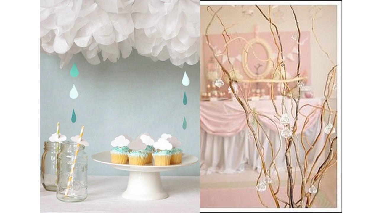 Ideas de decoraci n para la fiesta de bienvenida al beb - Ideas para decoracion ...