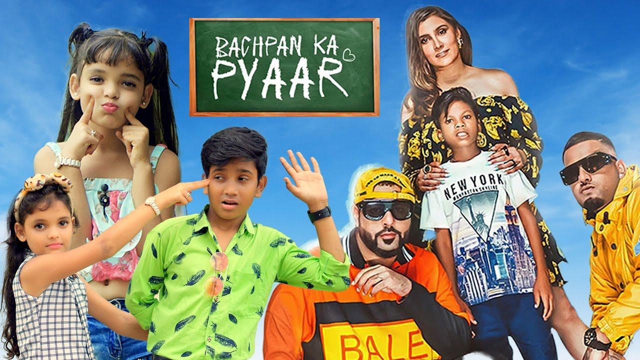 Bachpan Ka Pyaar | Badshah, Sahdev Dirdo | Cute Romantic Love Story | Latest Hindi Song | CuteHub