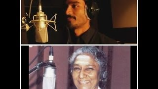Dhanush Sung With Janaki