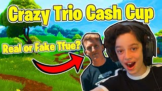 TFUE IN THIS GAME - **REAL or NOT REAL?** - PLAYING FORTNITE TRIOS CUP TOURNAMENT GAMEPLAY