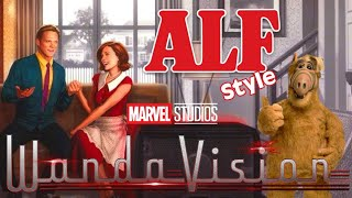 WANDAVISION - ALF STYLE - TRAILER - TEASER - DISNEY + - MARVEL STUDIOS - VISION