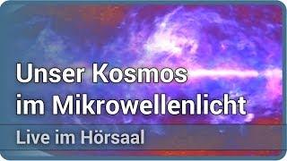 Vom Anfang der Zeit • unser Kosmos im Mikrowellenlicht • Live im Hörsaal | Torsten Enßlin