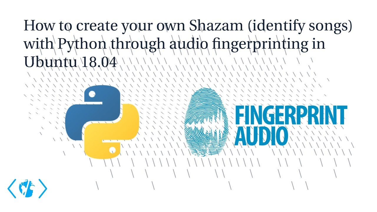 Creating your own Shazam (identify songs) with Python