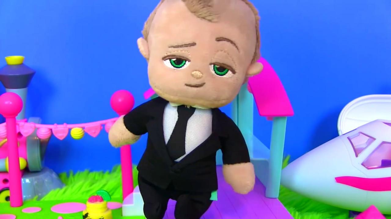 #БОСС МОЛОКОСОС ЛЕТИТ К МИСС КЭТИ! SHOPKINS SEASON 8 МУЛЬТИКИ BOSS BABY Игры для Детей #LOL ЛОЛ