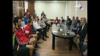 استعدادت منتخب مصر لكرة اليد فى البطولة الإفريقية بالجابون