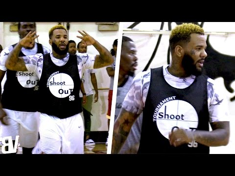 The Game Shows Off RANGE & Talks SMACK in Los Angeles Pick-Up Game!