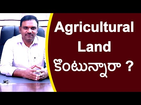 About buying agricultural land for Farmers detailed explanation with examples   real estate