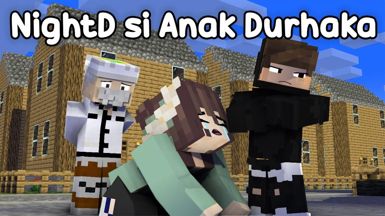 Download ANIMASI AZAB NIGHTD BOCHIL EP EP DURHAKA DIKUTUK JADI MANUSIA SILVER! - Minecraft Azab