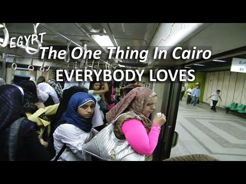 Cairo's Beloved (and Sweet-Smelling) Metro