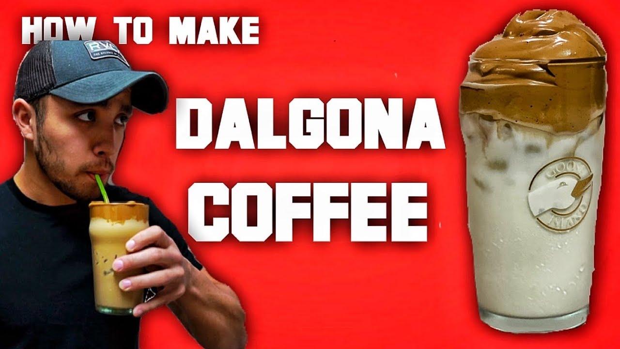 DALGONA WHIPPED COFFEE RECIPE-tiktok recipe- Instagram☕️☕️ ...