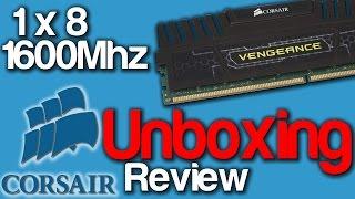 Unboxing Memória 1 x 8 GB 1600MHZ Corsair Vengeance[PT-BR]