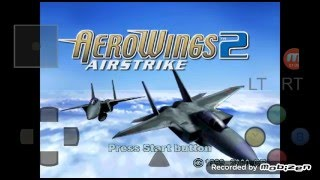 Android DreamCast Emulator ReiCast AeroWings 2 - Air Strike Game Play