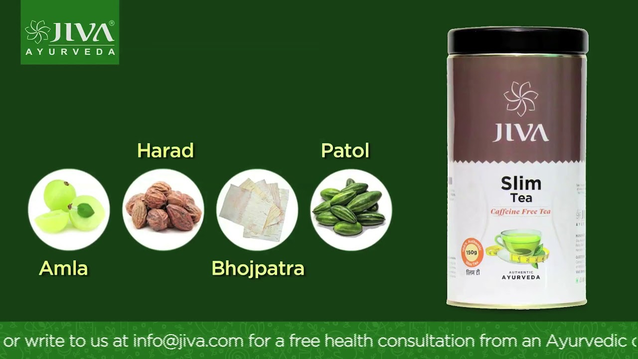 Jiva Slim Tea - Stay slim with Ayurveda