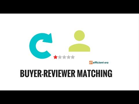 Buyer Reviewer Matching : Instructional Tutorial