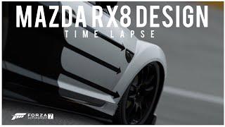 Forza Motorsports 7 | Mazda RX8 Design Drift Safari | Time-lapse (1080p)