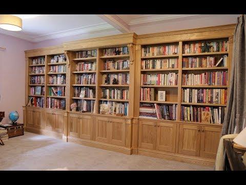Making An Oak Breakfront Bookcase